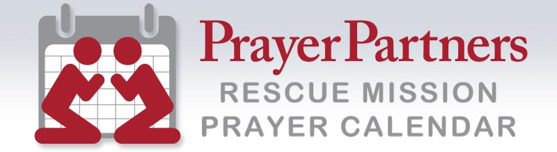 Prayer Partner Header Image